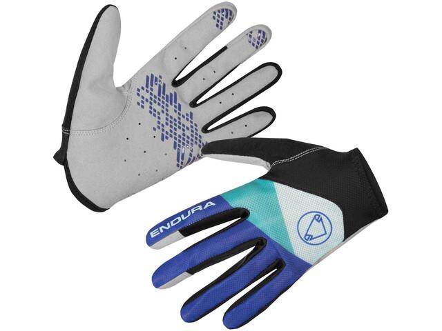 Endura Hummvee Lite Gloves Men cobaltblue